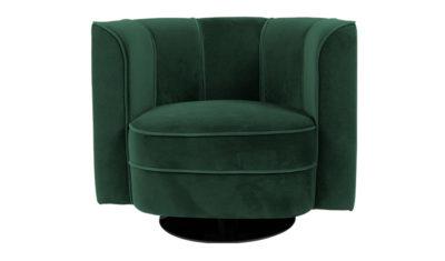 Flower_lounge_chair_green